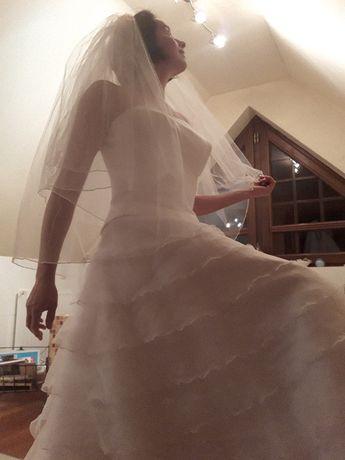 suknia ślubna 38 r