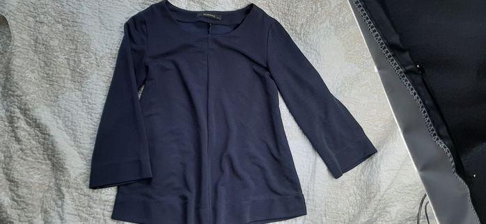 *wietrzenie szafy* granatowa bluzka premium Reserved 36 S litera A Gdańsk - image 1