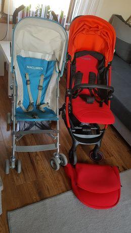 Wózki Coneco Campo oraz Maclaren volo