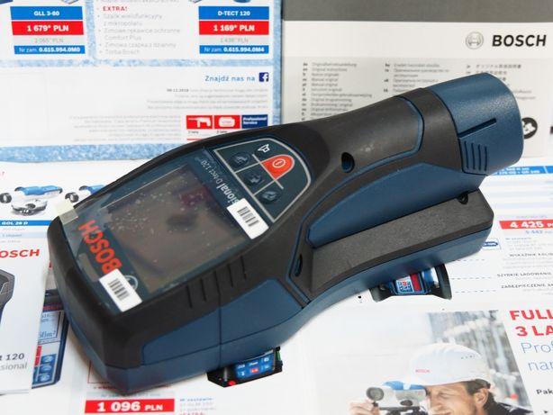 BOSCH D-TECT 120 detektor czujnik wykrywacz kabli szukacz drewno
