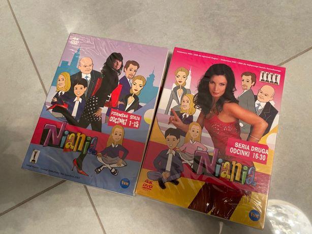 Niania sezon 1 i 2 DVD (8 płyt) nowe folia