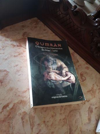 """Livro """"Qumran"""" o enigma dos manuscritos do mar morto"""