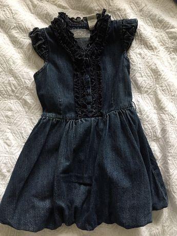 Sukienka jeansowa GUESS 4 lata