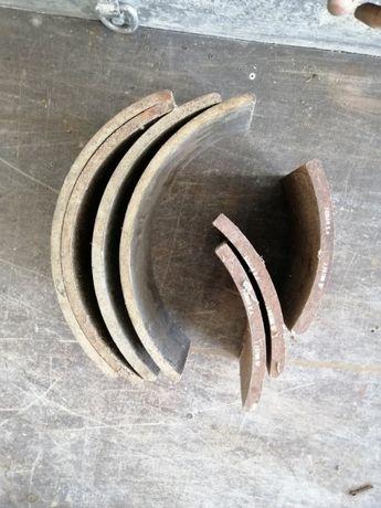 Okładziny hamulcowe jelcz 200 komplet przód i tył