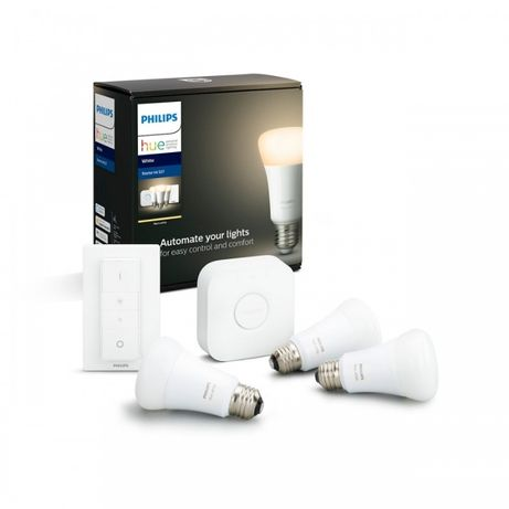 Philips HUE White E27 + Mostek + Ściemniacz Bluetooth