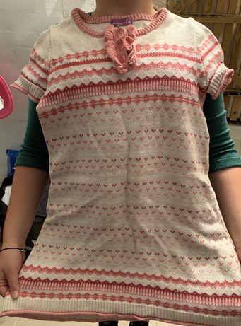 Ciepła sukienka
