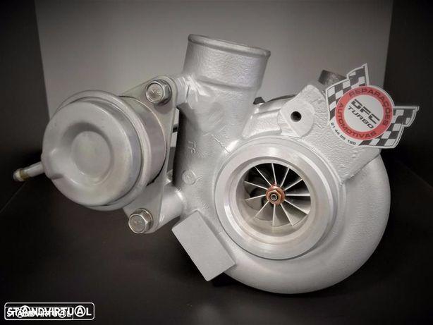 Turbo hibridado com MFS de 11 pás para SAAB V6 2.8