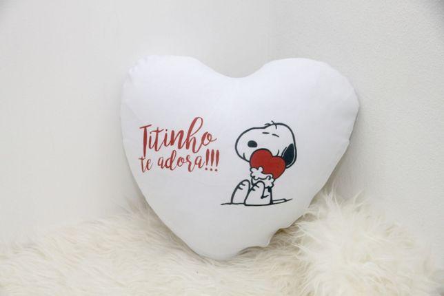 Almofadas Personalizadas em forma de coração