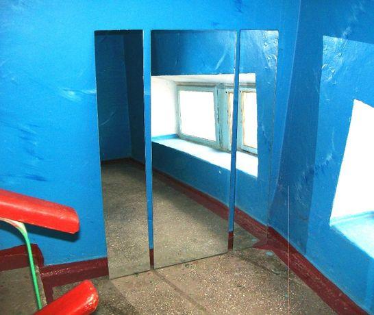 Зеркала мебельные на трильяж, или по отдельности. Производство СССР.