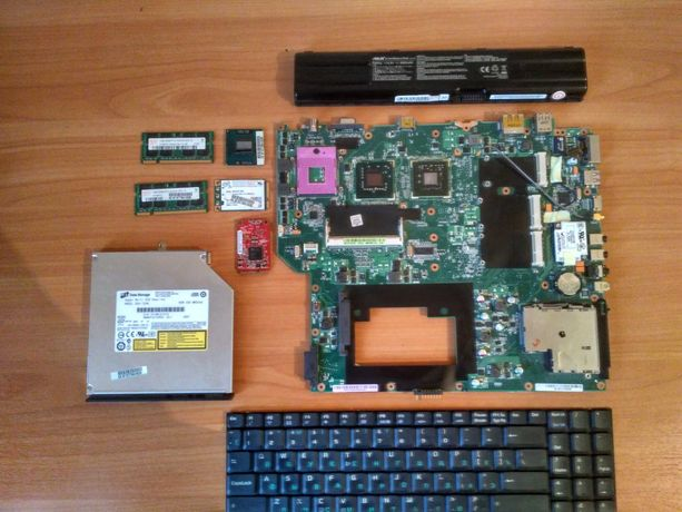 Ноутбук Asus A7S(G2S) по запчастям