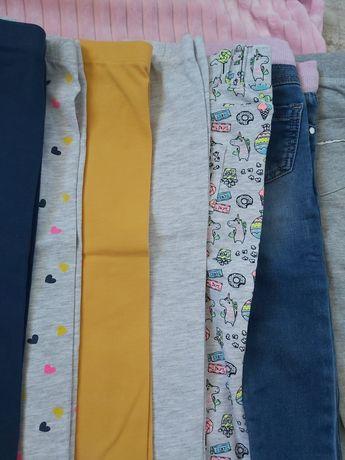 Leginsy, spodnie w rozmiarze 86