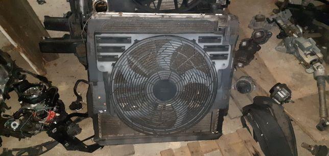 BMW z5 e53 3.0i m54 wentylator chłodnice