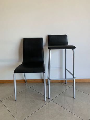 Cadeiras e bancos altos de cozinha