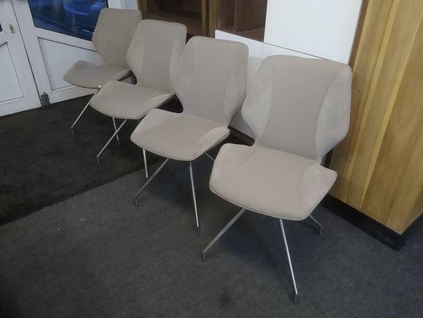 Krzesło, krzesła 4 sztuki Habufa, nowe