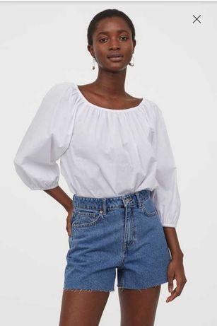 Джинсовые шорты женские h&m