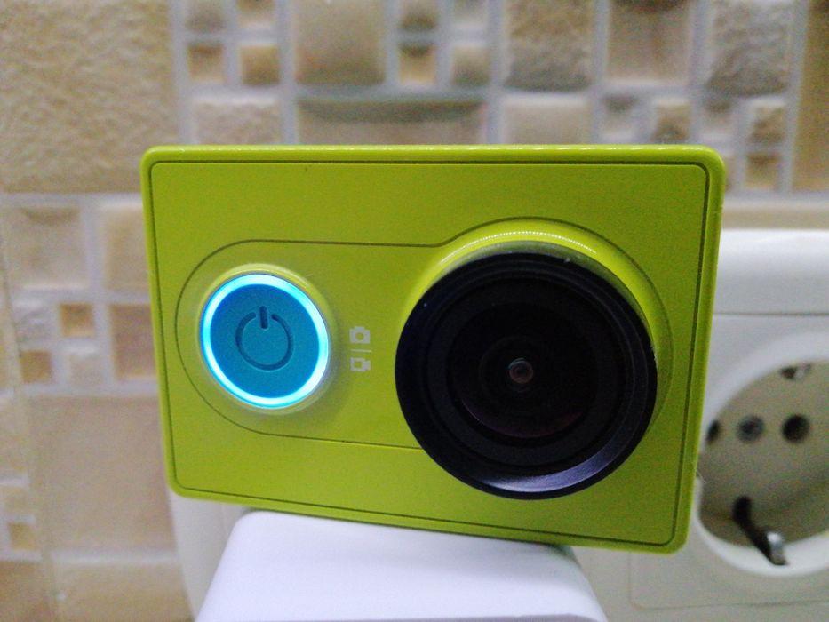 Екшен камера Xiaomi Yi Green full HD матрица Sony CMOS Одесса - изображение 1