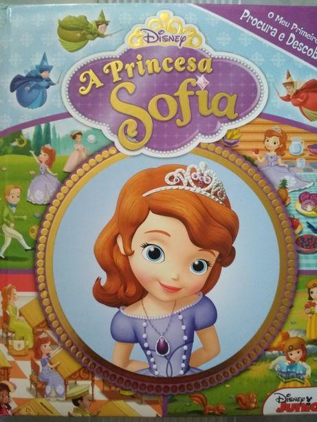 Livro GRANDE Princesa Sofia