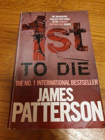 Книга англійською James Patterson 1st to die