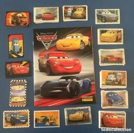 Coleção completa Cars3 por colar + caderneta