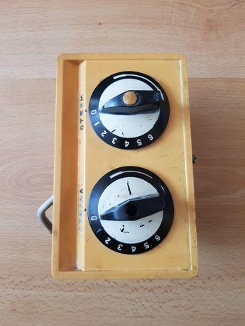 Stare radzieckie zegary z 1975r. wyłączniki czaowe 6 minut, sprawne.