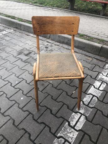 Krzesło bumerang prl