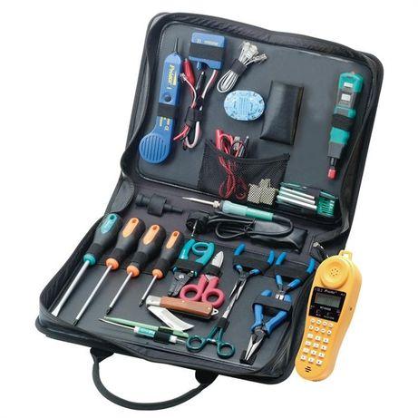 Набор инструментов для телекоммуникационных сетей ProsKit PK-4022BM