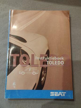 Seat toledo II 2 Książka Instrukcja i Obsługa