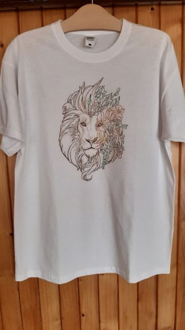 koszulka ręcznie malowana nr 7