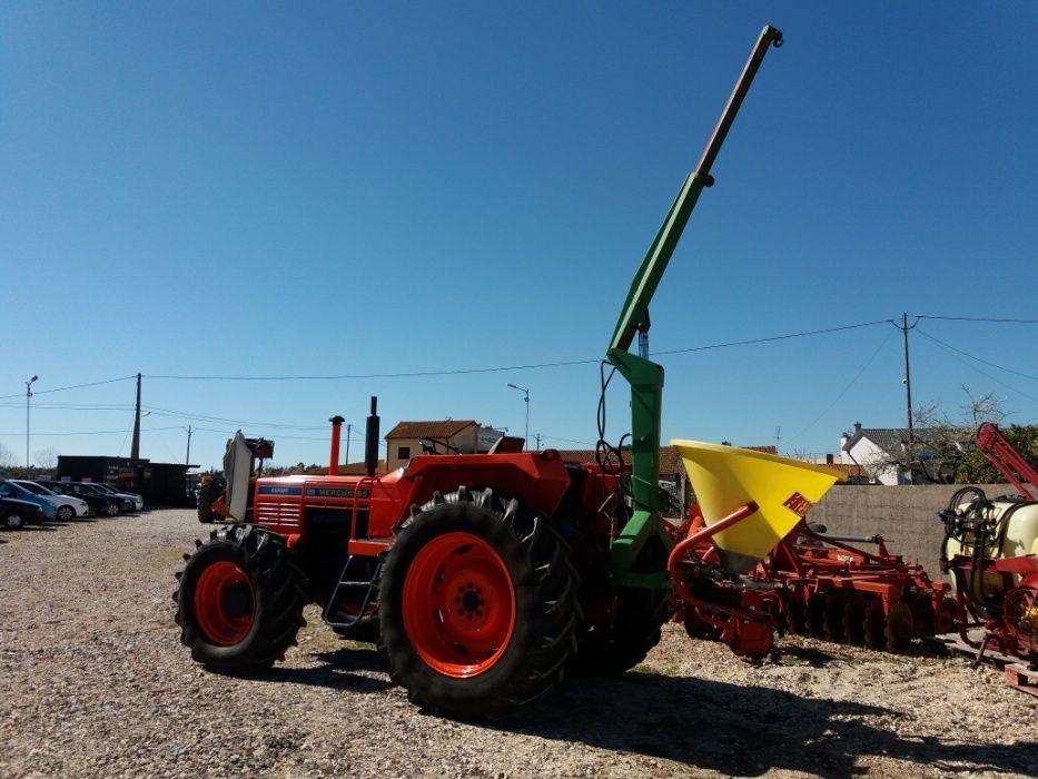 Grua hidraulica telescópica p/tractor agricola Bom Sucesso - imagem 1