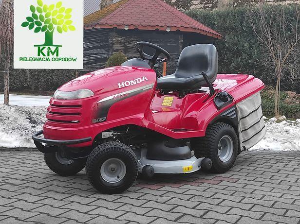 Honda HF2417/ Honda V2 17km/pompa/automat/2011 rok/traktorek kosiarka