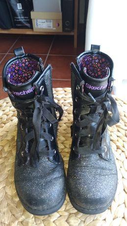 Botas Skechers de menina/rapariga