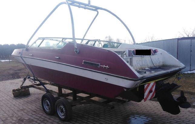 Kadłub łódź motorowa motorówka bez napędu Four Winns sypialnia tanio