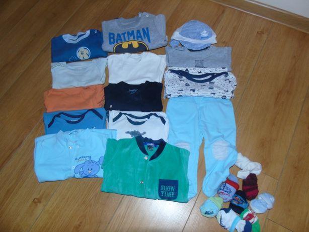 Ubranka dla dziecka rozmiar 62-68