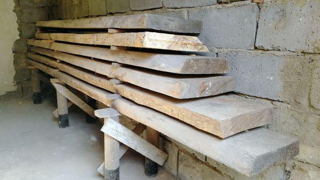 Grube deski (na stopnie schodowe, blaty, półki itp.)
