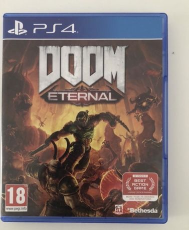 Doom eternal PL gra PS4