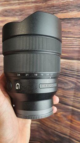 Lente Sony FE G 12-24mm F/4 - estado como novo