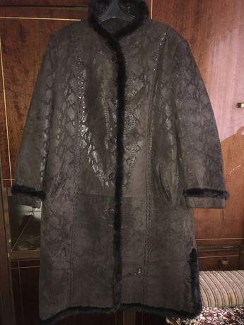 Пальто с норкой