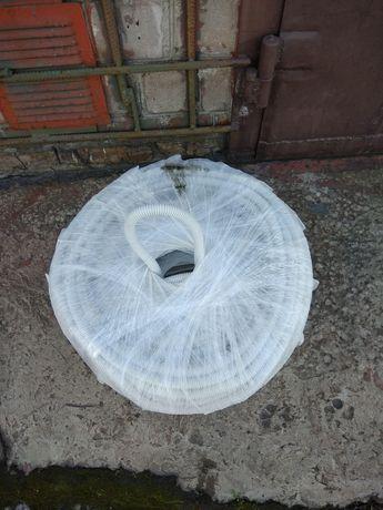 Труба гибкая гофрированная, гофра для провода диаметр 20мм