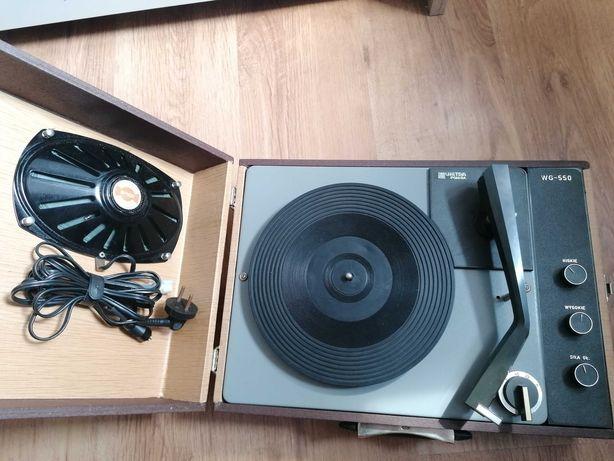 Gramofon Walizkowy Unitra Fonica WG 550