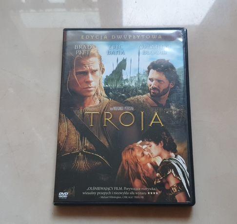 film dvd Troja,wydanie dwuplytowe
