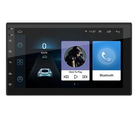 Radio 2 DIN Android 10+GPS+RDSi+kit mãos livres/Câmera