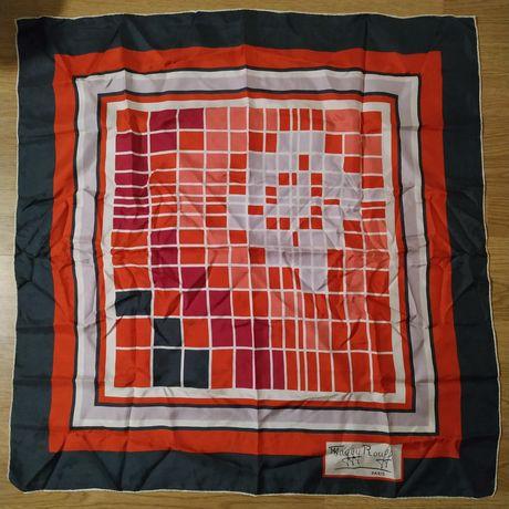 Maggy Rouff Paris, шовковий шарф-платок