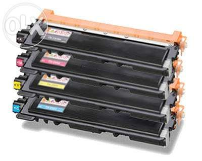 Toners compatíveis brother tn-210 / 230 preto e cores