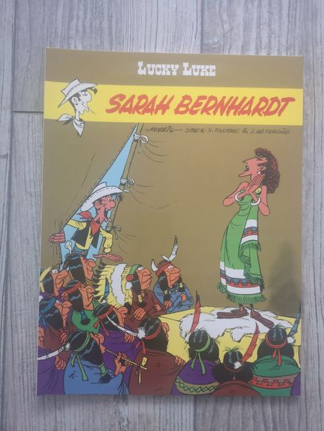 Komiks pt Lucky Luke Sarah Bernhardt tom 50