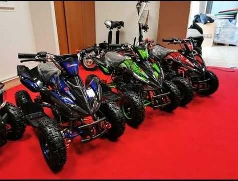 Mini Moto4 gasolina para crianças NOVAS