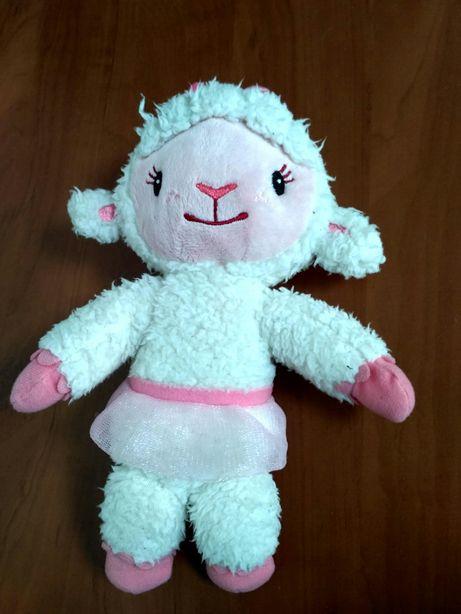 Мягкя игрушка овечка Лемми из мф доктор Плюшева