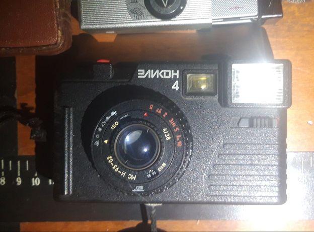 Фотоаппараты, вспышки (СССР)