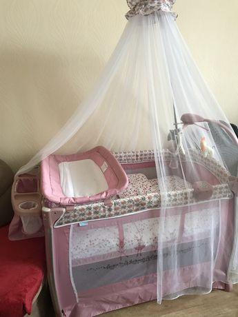 Кровать-манеж Nuovita Fortezza и наполнение