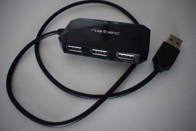 Rozgałęźnik USB - Hub -usb ,,Natec''