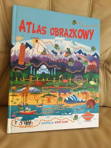 Nowa książka Atlas obrazkowy Steve Evans wyd. Olesiejuk